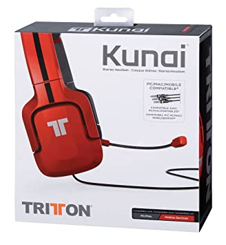 5497a6c885c Tritton Kunai 3.5 mm Head-band Red headset - headsets (PC/Gaming ...