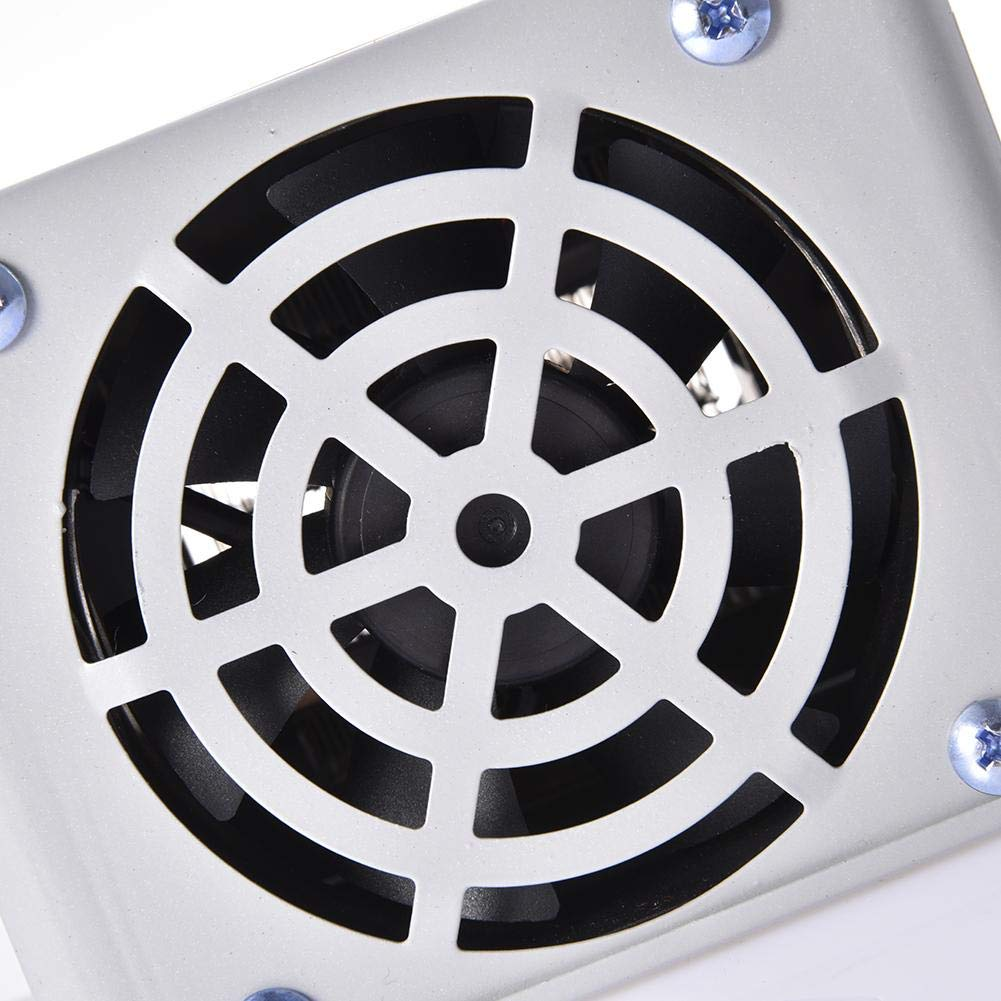 Portable Car Truck Fan Heater fancyU 12V 2 Ports Universal Car Truck Fan Heater Car Demister Demister Heating Warmer Windshield Heater 12V