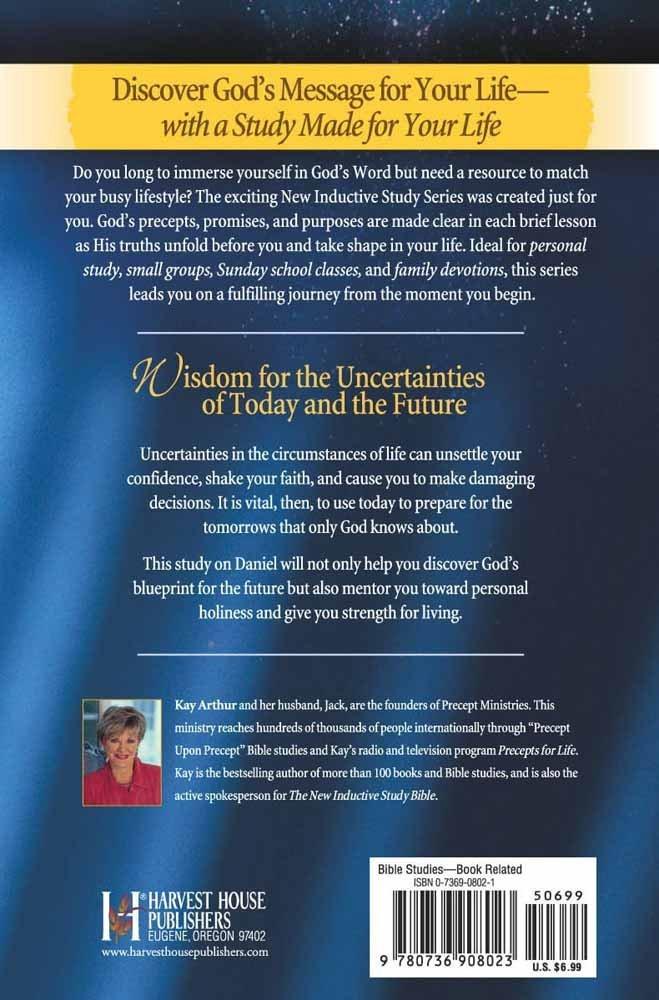 Gods blueprint for bible prophecy daniel the new inductive study gods blueprint for bible prophecy daniel the new inductive study series kay arthur 9780736908023 amazon books malvernweather Choice Image