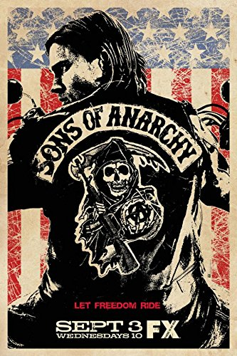 - Fit You Sons Of Anarchy Silk Wall Poster Tv Shows Series Pictures Jax Teller 01