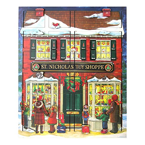 Byers' Choice St. Nick's Toy Shoppe Musical Advent Calendar #MC16 by Byers' Choice