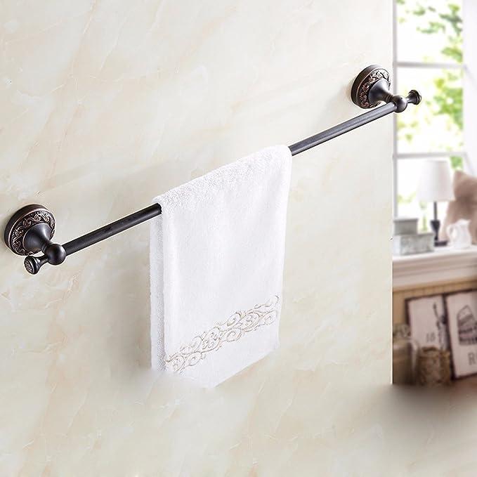 Sursy Hotel baño toallero, toallero, estante de la toalla de baño, barra de cobre, bathroom hardware colgante,B: Amazon.es: Hogar