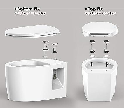 Initial heart Toilettensitz Rei/ßverschluss Toilettenpolster Dicke Weiche Sitzset U-F/örmigen Komfort