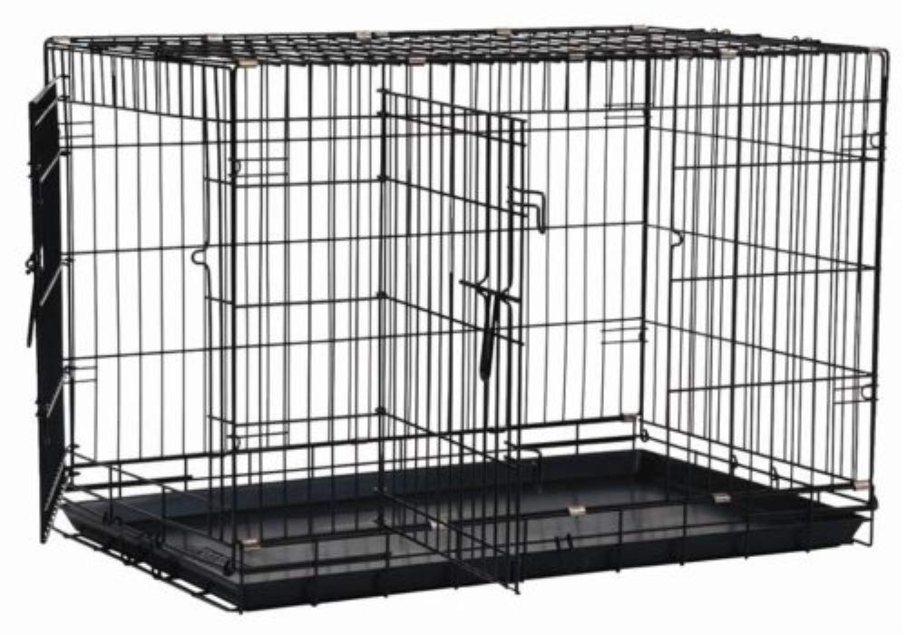 Precision Pet by Petmate 2 Door Great Crate with Precision Lock System Wire Dog Crate, 6 Sizes by Precision Pet