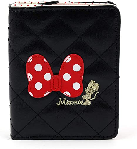 Amazon.com: Disney Minnie Mouse Dot Ribbon - Monedero ...