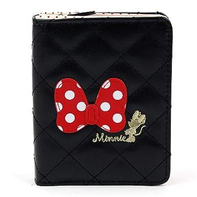 Amazon.com: Disney Minnie Mouse Dot Ribbon - Monedero ...