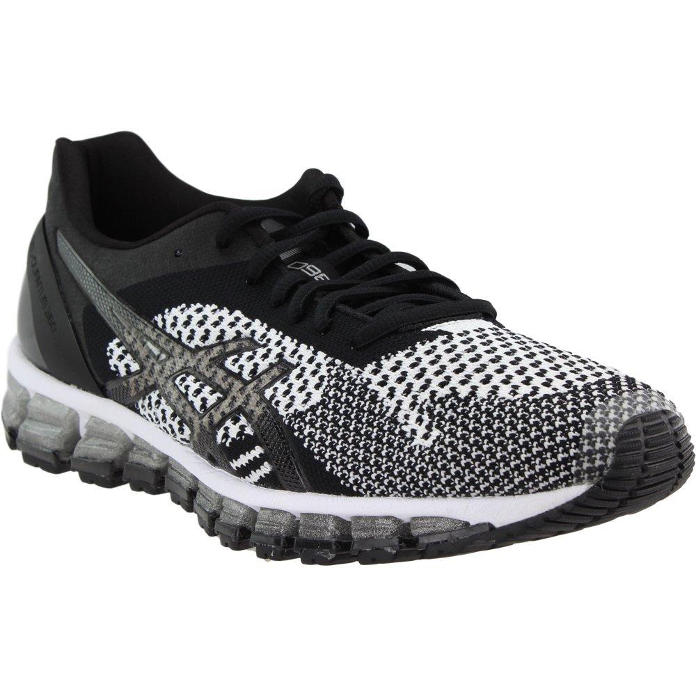 ASICS Women's Gel-Quantum 360 cm Running Shoe B078BBTYKW 5 B(M) US|Kint Black/White/Silver