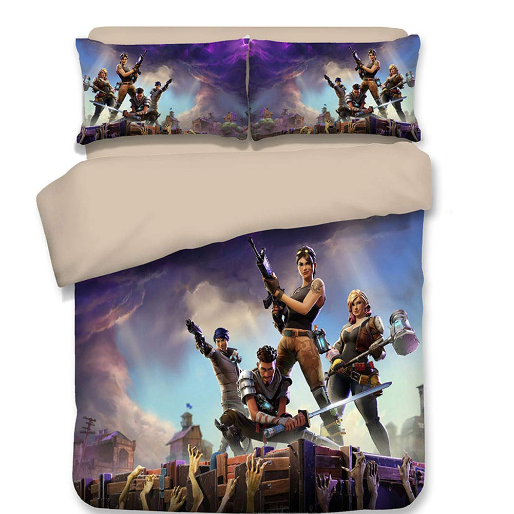 Sport Do Fortnite Battle Royale Game Decorative Bedding Set 3 Pcs Home Decor Cartoon Duvet Cover Sets Twin Full Queen Game Bed Set