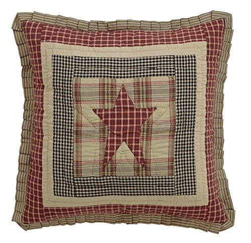 Olivia's Heartland Plymouth Quilted Euro Sham ()