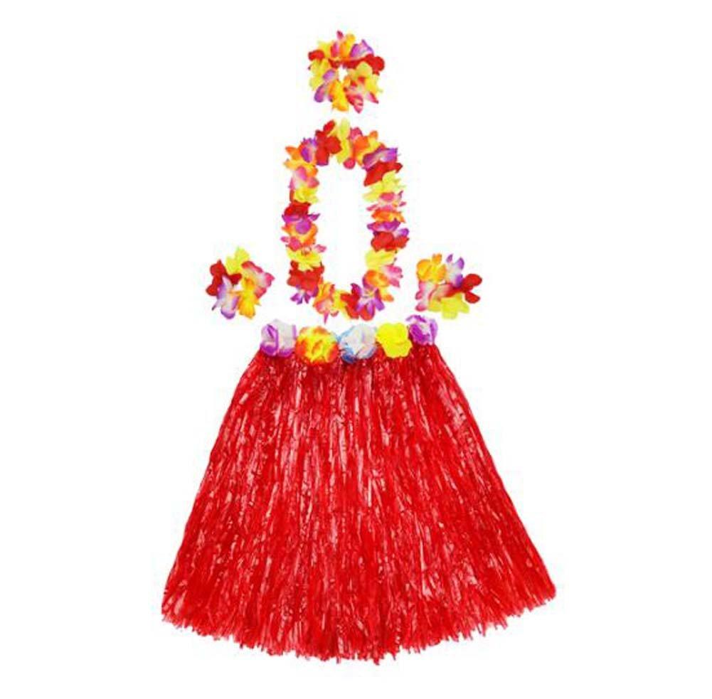 DRAGON SONIC Dragon - Falda de Hierba Hawaiana para Niños, Disfraz ...