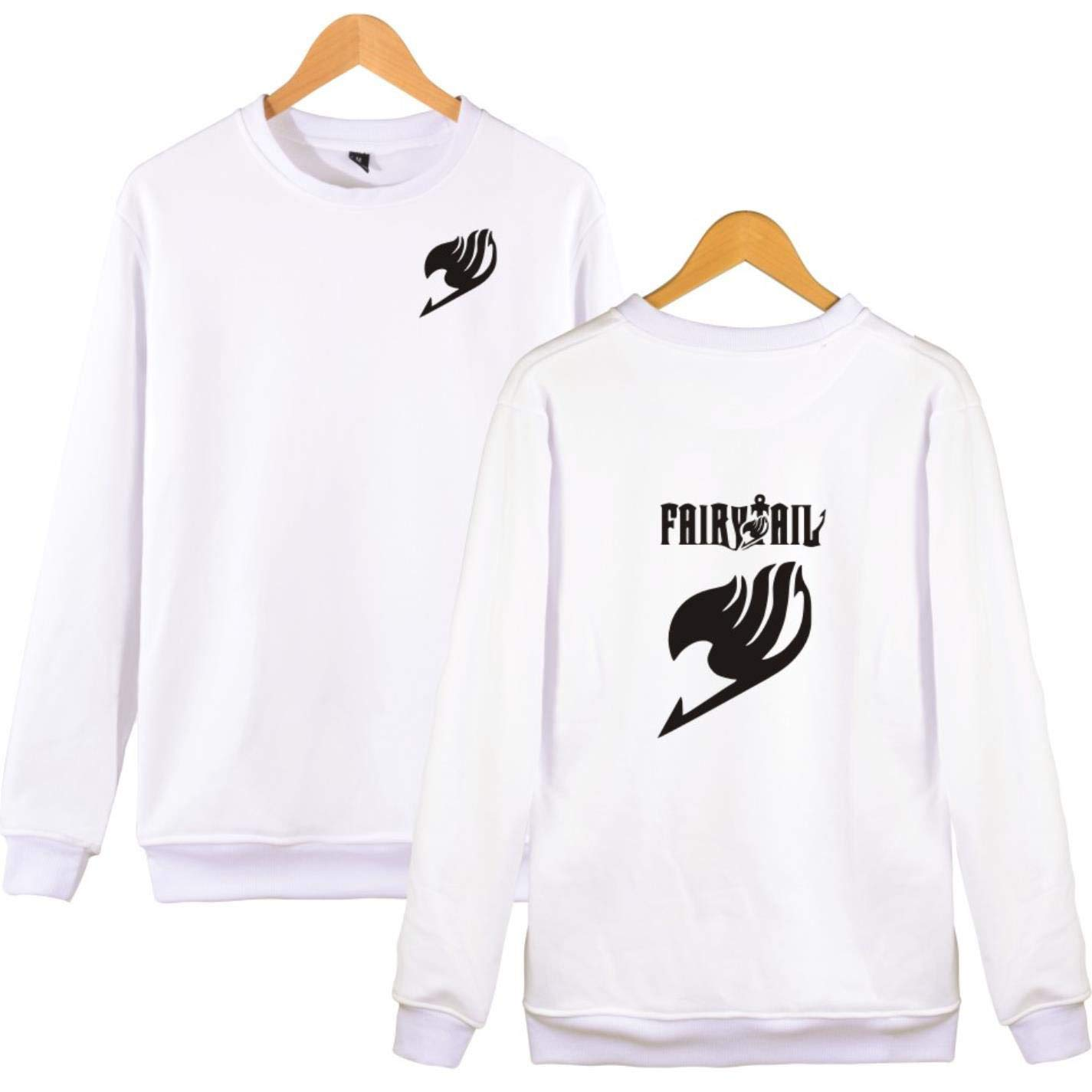 BWWX Fairy Tail Anime Thick Winter Hoodie Men Women Tracksuit Sweat at Amazon Womens Clothing store: