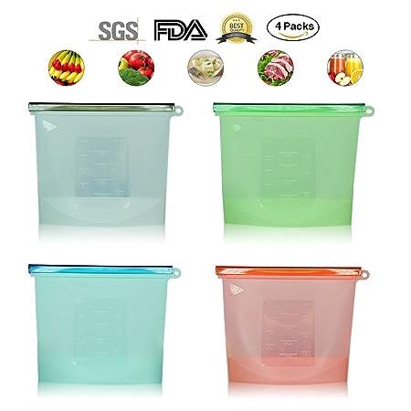AntiSir - Bolsas de silicona para almacenar alimentos ...