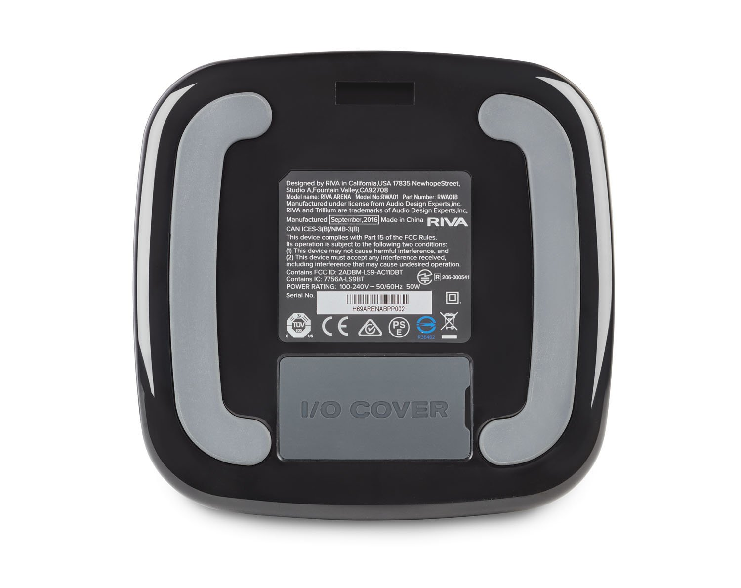"RIVA ARENA COMPACT MULTI-ROOM ""+"" SPEAKER (Black) by RIVA"