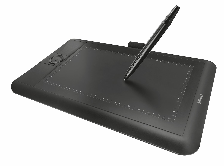 Trust Panora Tableta gr/áfica panor/ámica Color Negro