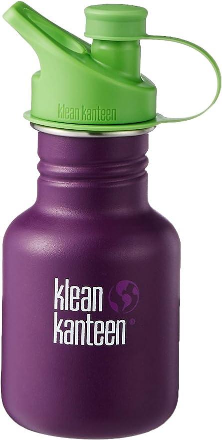 12OZ Wild Orchid Klean Kanteen Unisexs Kid Classic Sport Single Wall Bottle