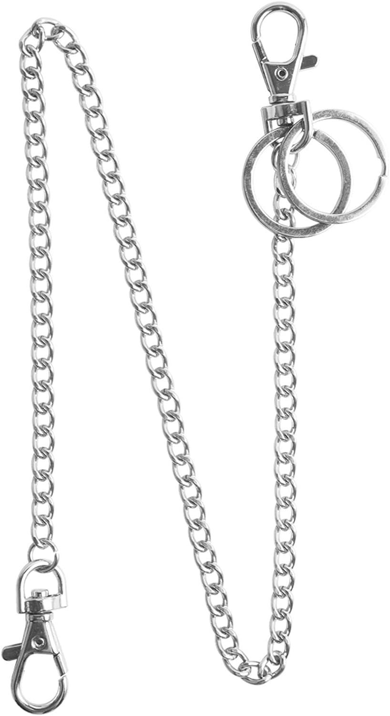 "Teskyer 18"" Silver Keychain"