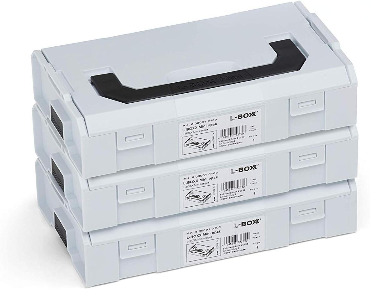 Mini Tapa Gris Claro//Negro L-BOXX Mini 6000010100 6000010100 L-BOXX