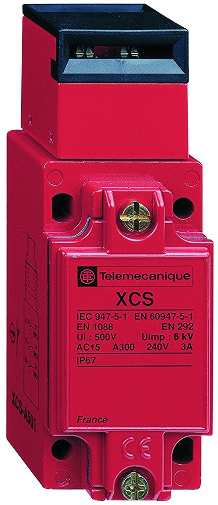 Telemecanique XCSA503 Safety Interlock, Non-locking, 2 NO + 1 NC, 1/2 NPT Cable Gland, Metal Enclosure by Telemecanique B00RW7FLOO