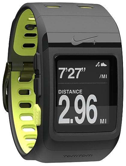 67c7161824 Amazon.com   Nike+ SportWatch GPS Powered by TomTom (Black Volt ...