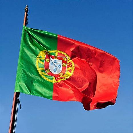 Candybarbar - Bandera de Portugal (90 x 179 cm), diseño de águila ...