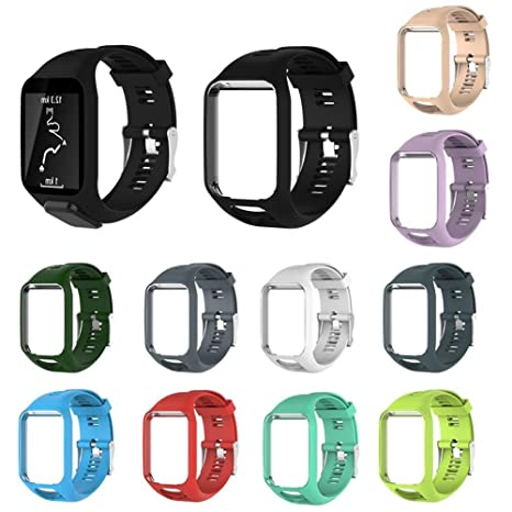 CWeep Smartwatch Band Straps, Replacement Adjustable Soft ...