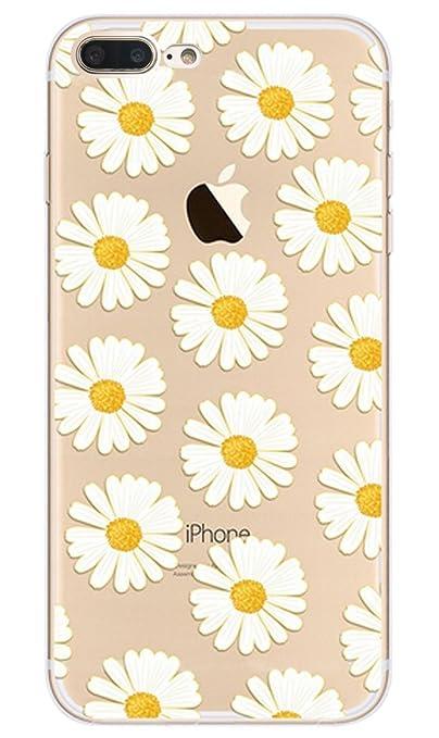 7 opinioni per iphone 7 Plus custodia,NNIUK iPhone 7 Plus copertura sveglia Daisy TPU Ultra