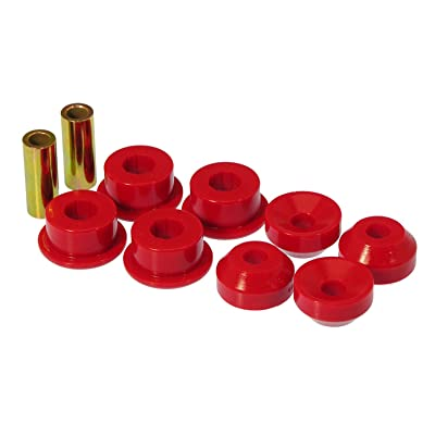 Prothane 8-901 Red Front Shock Bushing Kit: Automotive