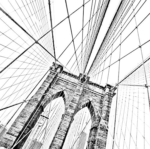Brooklyn Bridge 1 , 24x24in. (paper) (Bridge Brooklyn 1)