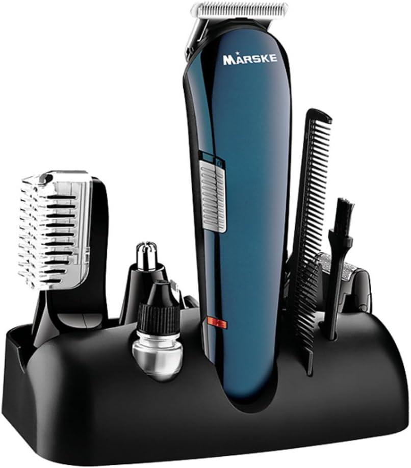 Máquina de afeitar eléctrica 5-en-1, recargable de múltiples ...