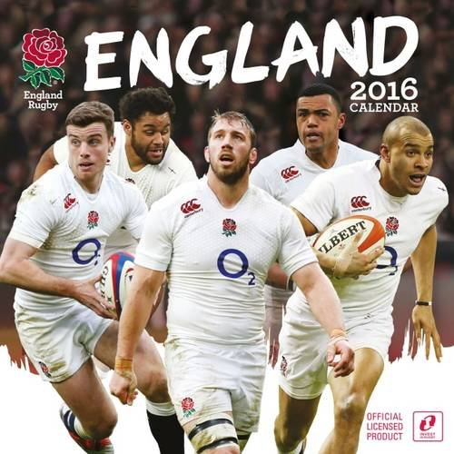 The Official England Rugby Union 2016 A3 Calendar by Danilo Promotions Limited