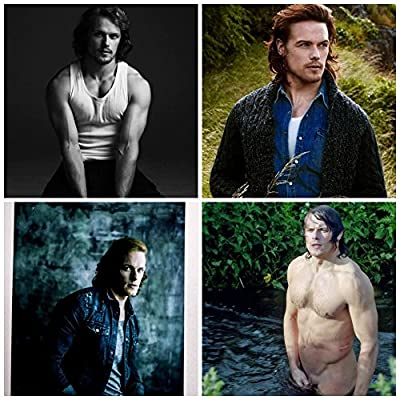 SAM Heughan Outlander All 4 Pictures New 4 X6 a Bundle