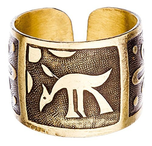 Men's Women's Magi's magic Ring 'Heating Sun'. Copper amulet of protection of the gods.