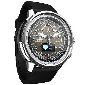 AUOKP Bluetooth Smart Watch Sport podómetros Impermeables ...