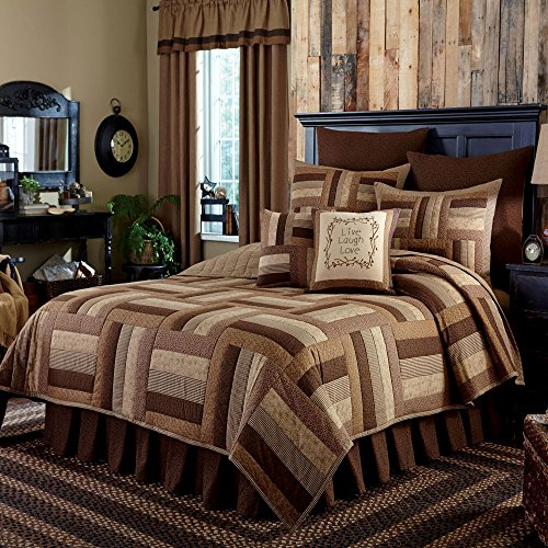 Park Designs Shades Brown Queen Quilt
