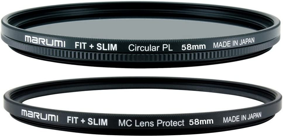 Slim 58mm Circular PL Filter Marumi Fit