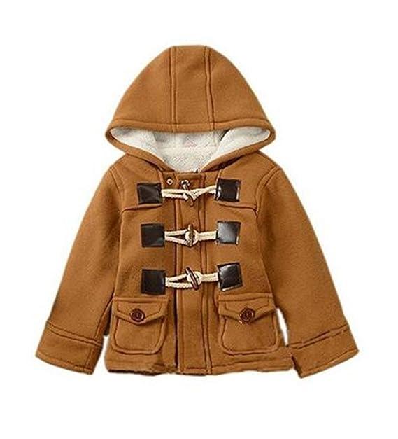 4986fb7031ec Amazon.com  Lewego Unisex Baby Fleece Hooded Jacket Outerwear Duffle ...