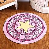 Infant Shining Bedroom Carpet Cartoon Pink Sakura