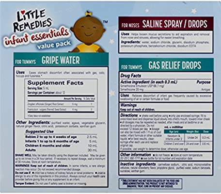 Little Remedies Infant Essentials Value Pack | 3 Great