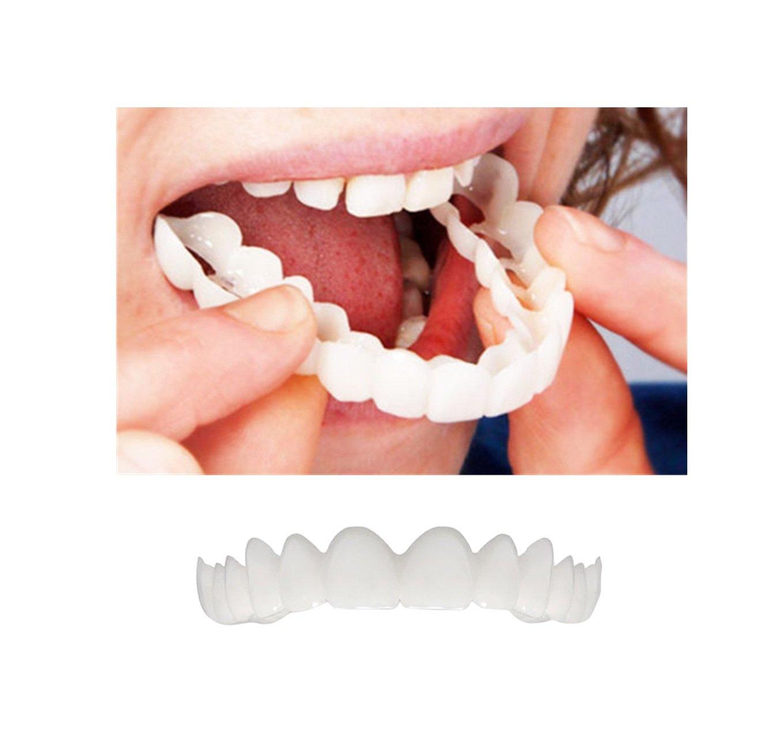 Hoshell Comfort Fit Flex Cosmetic Teeth Denture Teeth Top Cosmetic Veneer