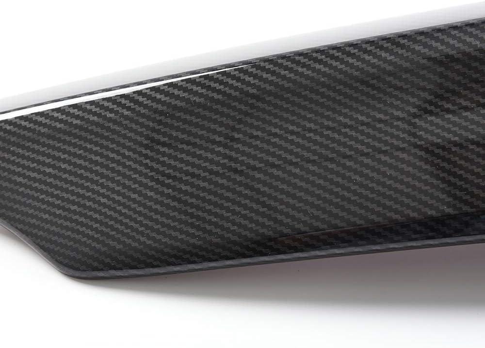 Grille Cover Moulding Trim Front Grille Cover Trim Replacement For Honda Accord 10th Gen Sedan 4Door 1.5L 2.0L 2018-2019 Carbon Fiber