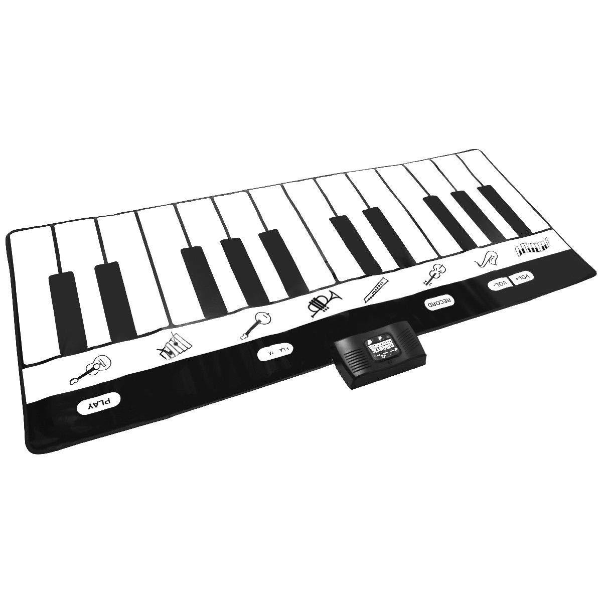FDInspiration 71'' Kids 24-Key Keyboard Dance Gigantic Piano Playmat w/ 4 Modes with Ebook by FDInspiration (Image #9)