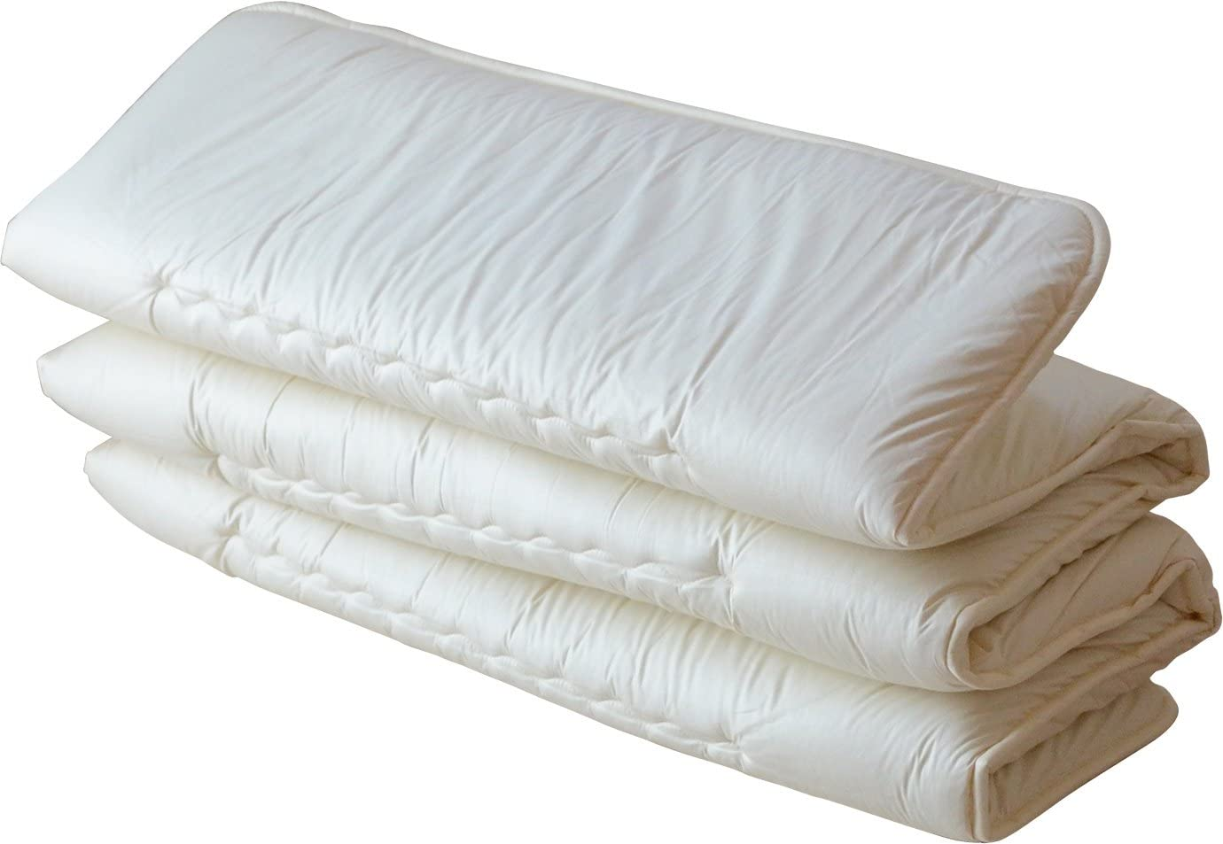 EMOOR Japanese Traditional Mattress Futon 6-fold, Twin Size. Made in Japan