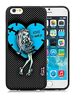 CMS Easy Use iPhone 6 4.7 inch TPU Cases Design with Monster High in Black