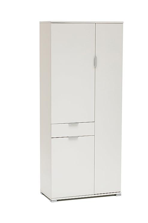 MeMi Me400LAC Armadio, Legno, Laccato Bianco, 36.5x75x174 cm: Amazon ...