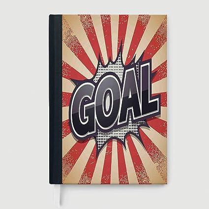 Cuaderno clásico Retro Hardcover para estudiantes, decoración de ...