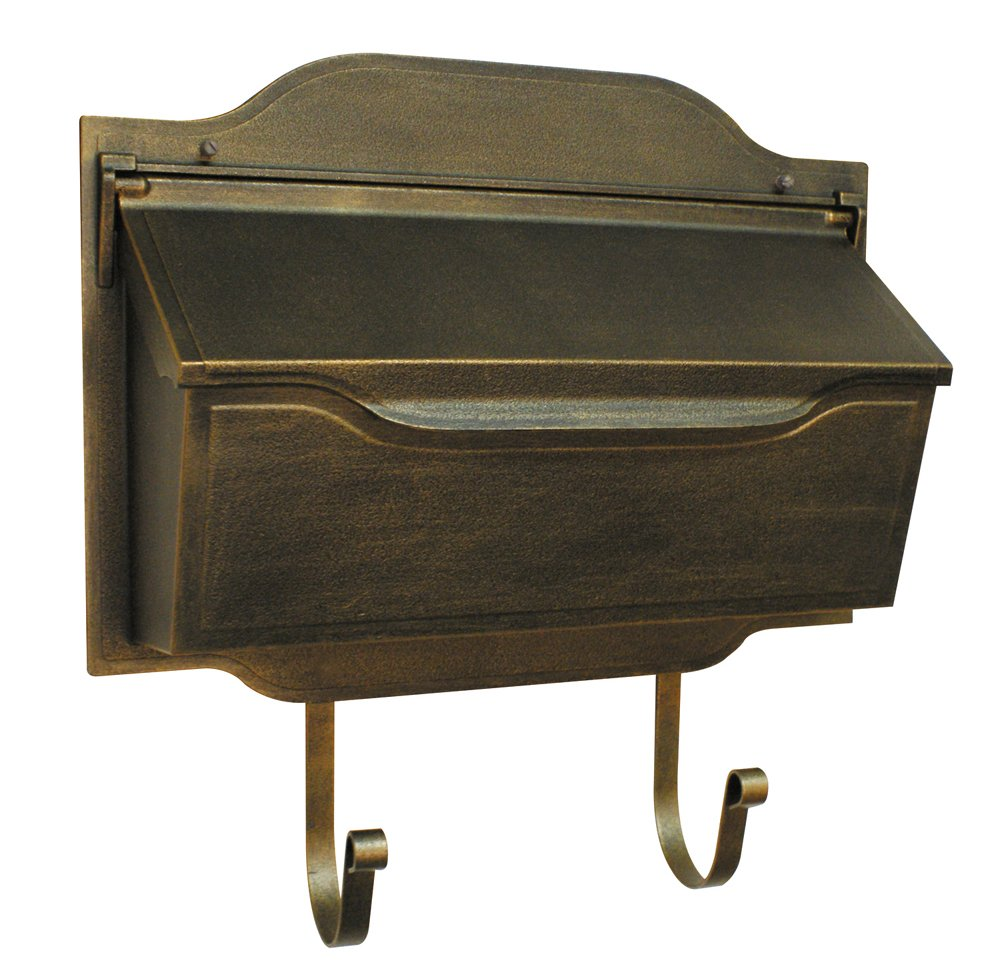 Special Lite Products SHC-1002-BR Contemporary Horizontal Mailbox, Bronze by Special Lite Products Company, Inc.