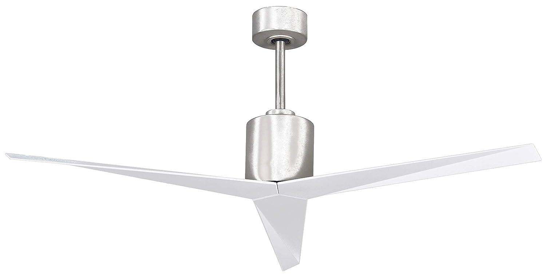 Brushed Nickel Matthews Fan Company 3 Blades Matthews EK-BN-BN Eliza 56 Outdoor Ceiling Fan with Remote /& Wall Control