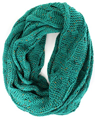 2fa002d00 Crane Clothing Co. Women's Flecked CC Infinity Scarf One Size Sea ...
