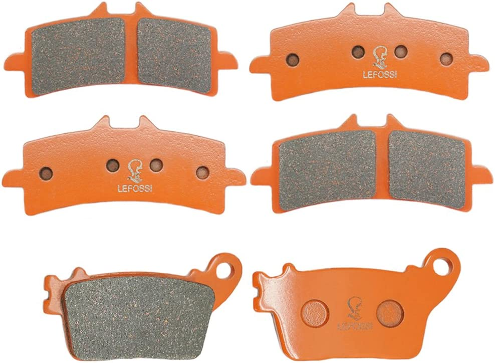 Front and Rear Sintered Brake Pads for Suzuki GSXR GSX-R 600L 750L 2011 2012 2013 2014 2015 2016