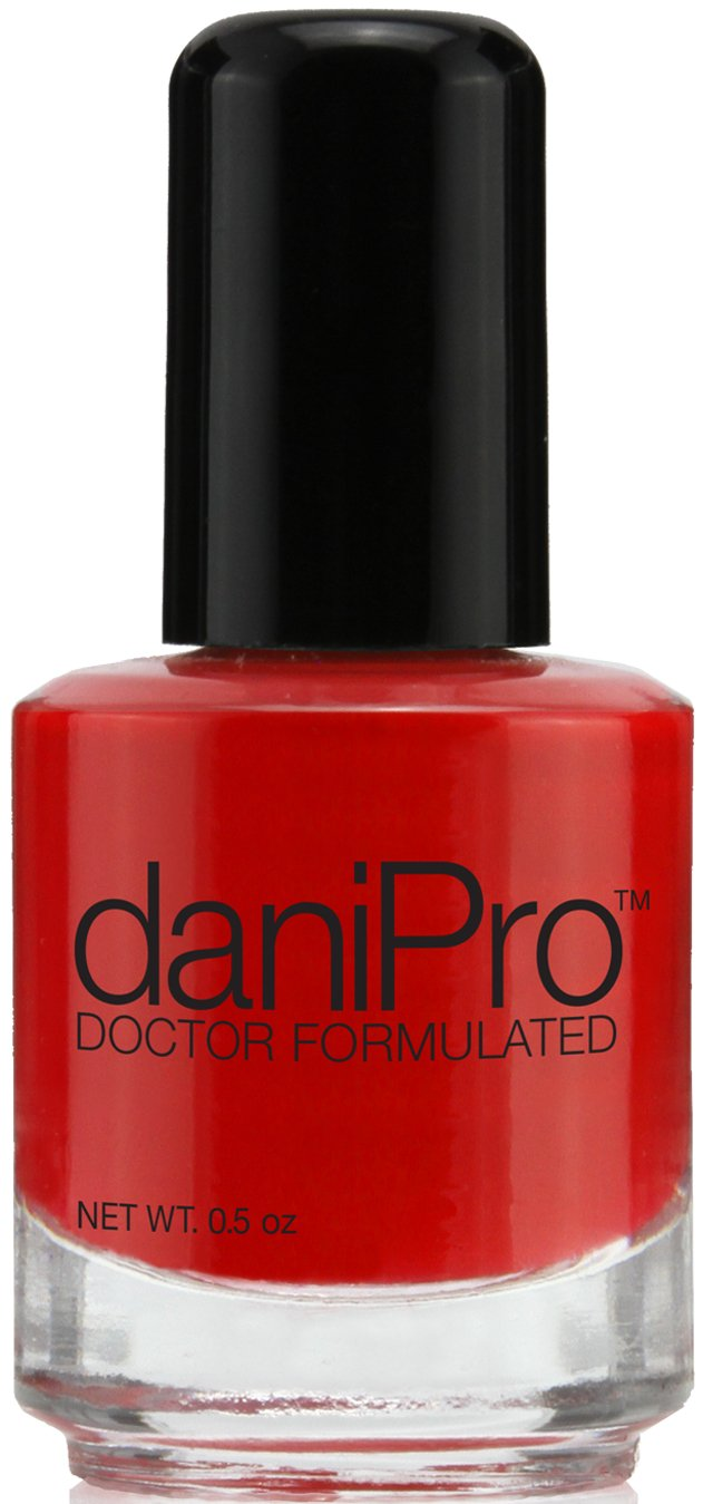 daniPro Doctor Formulated Nail Polish - First Kiss - Red